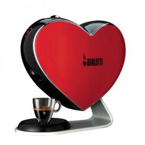Macchina caffè Bialetti cuore